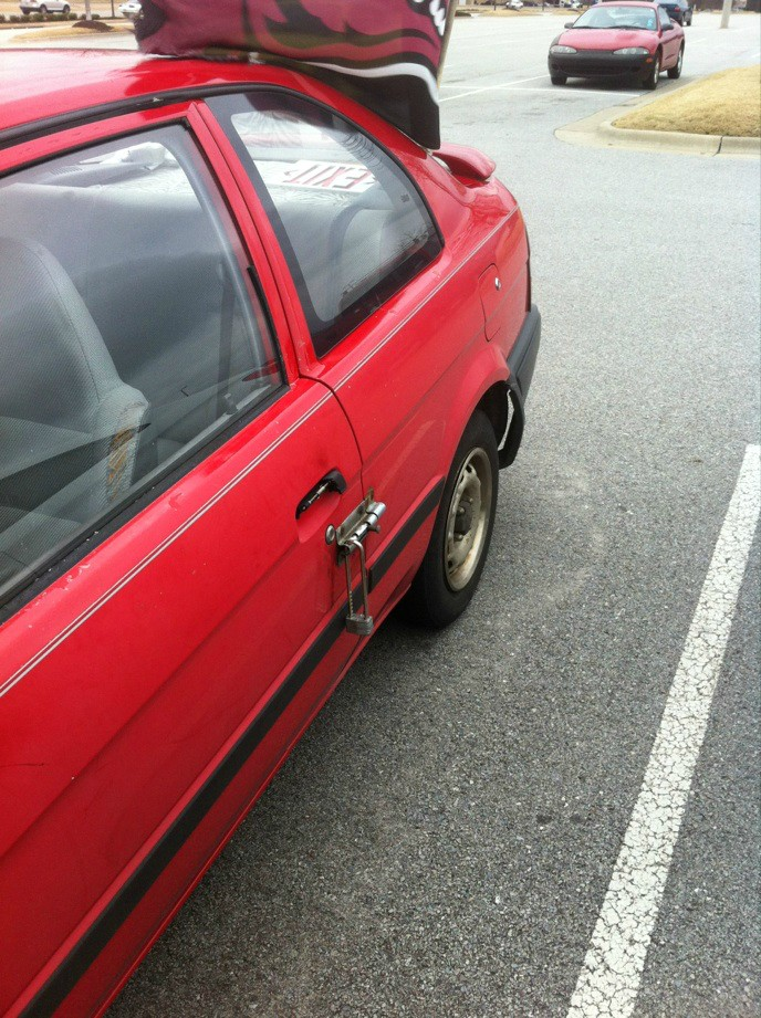 diy car door lock