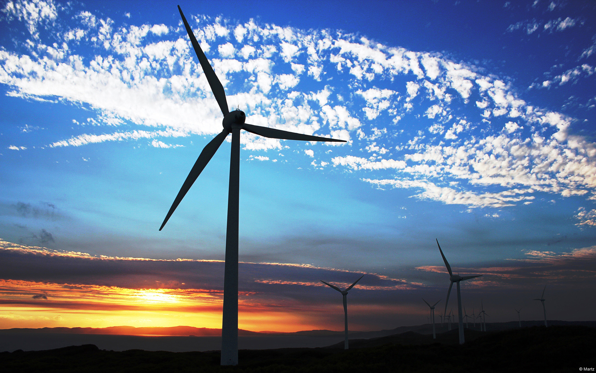 Albany Wind Farm, Western Australia