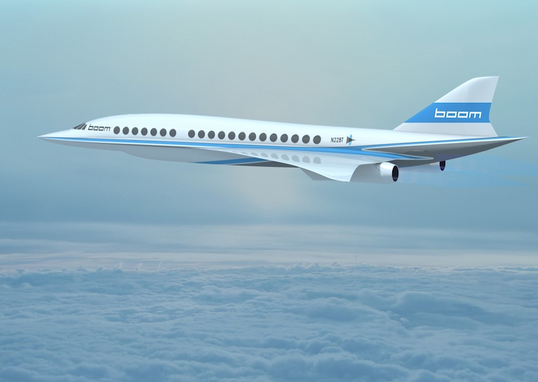 Boom Flying supersonic jet