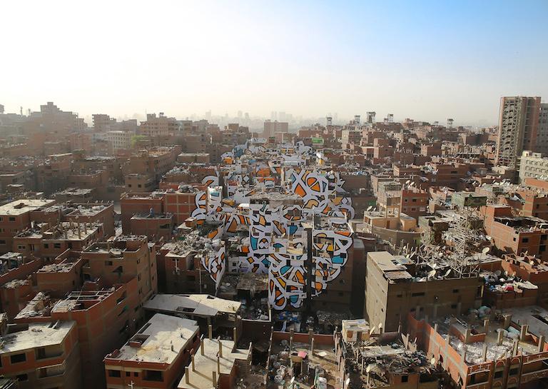 EGYPT STREET paint artist