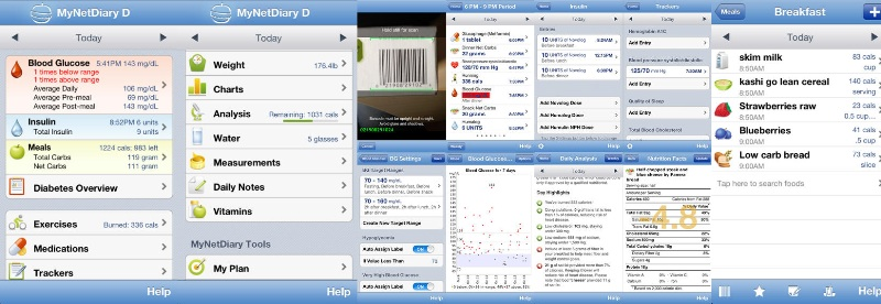 My net Diary App diabetes app copy