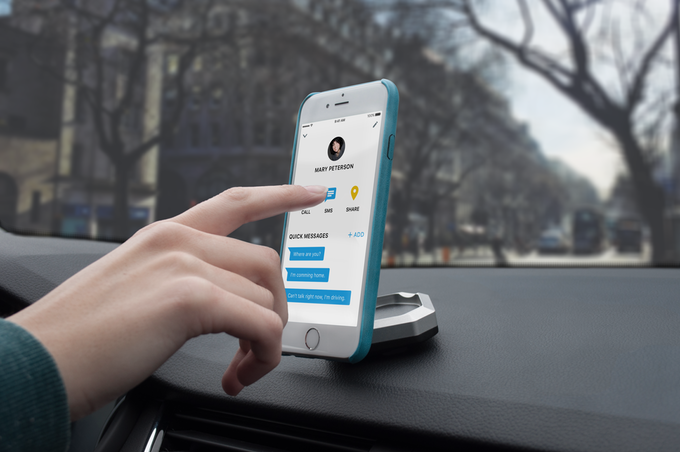 bluejay smartphone car smart mount kickstarter