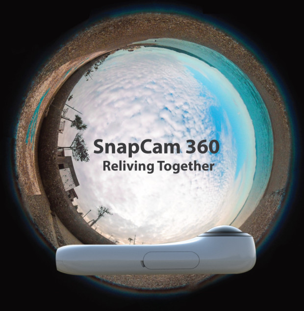 SnapCam 360 camera image pictures