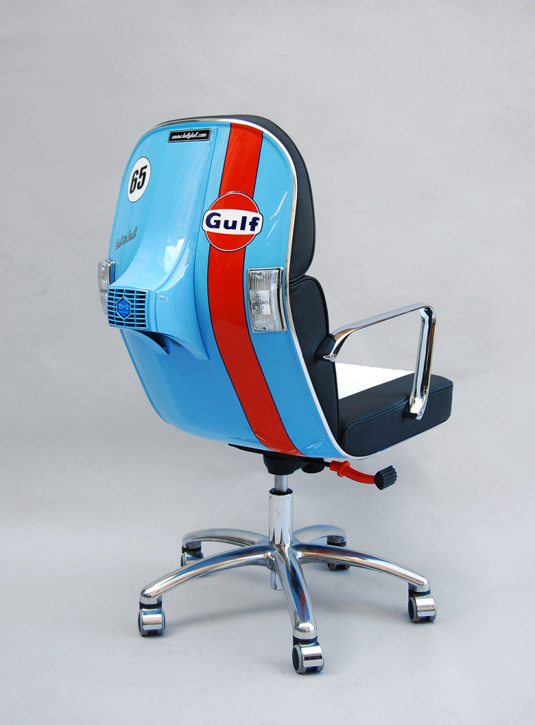 gulf vespa office chair