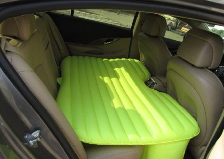 inflatable car mattress sleep travel