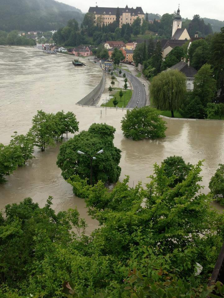 machland flood walls austria