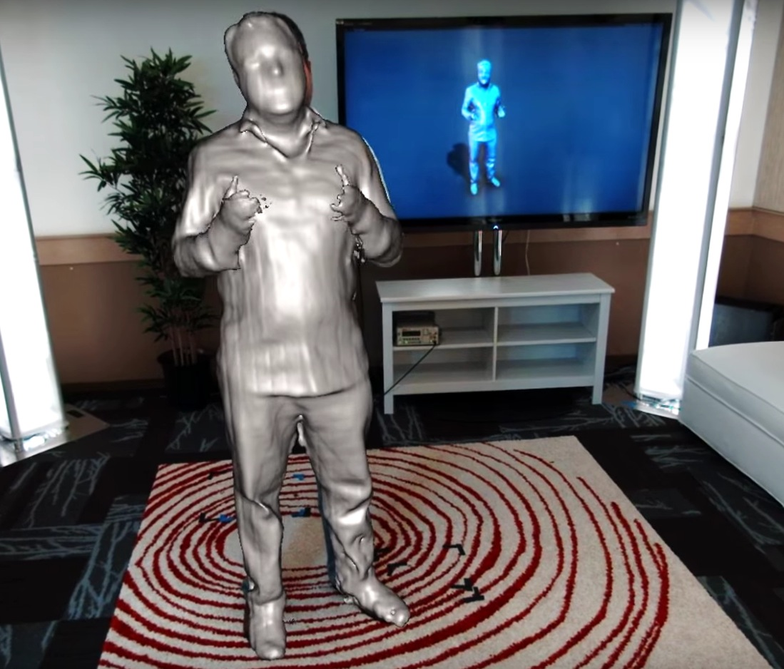 microsoft tracking technology holoportation