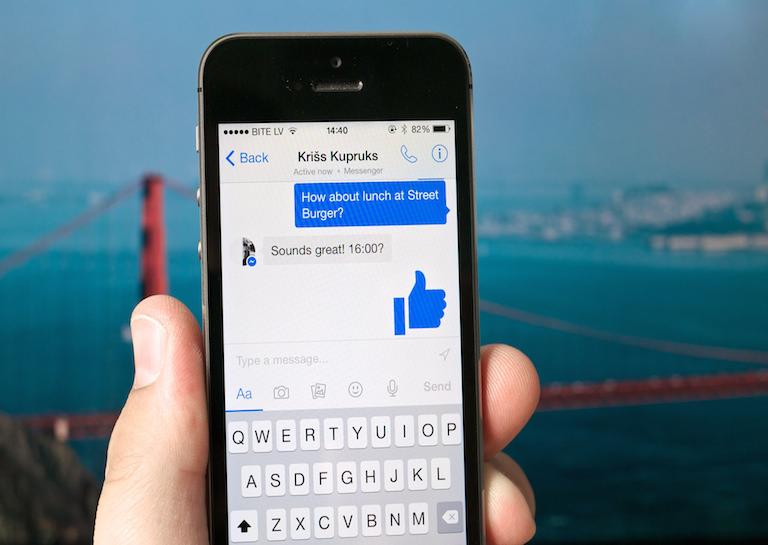 news messenger chatbots