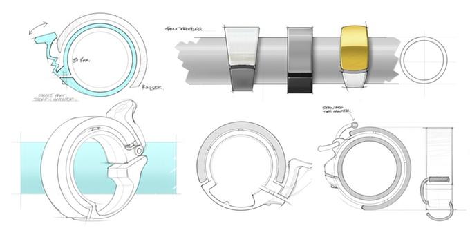 oi bike bell design