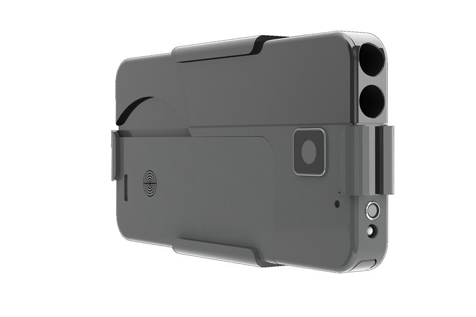 smartphone handgun