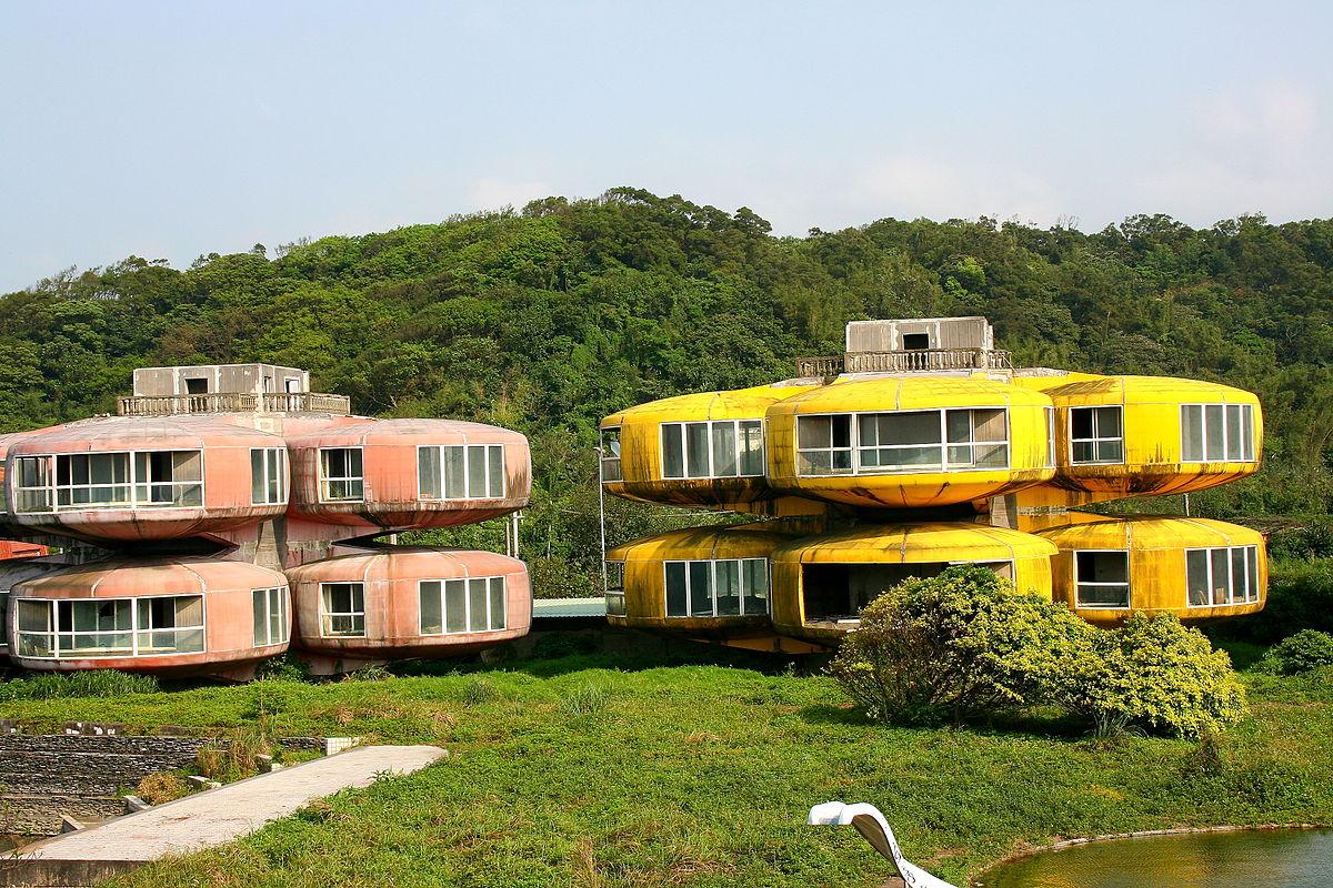 ufo houses taiwan