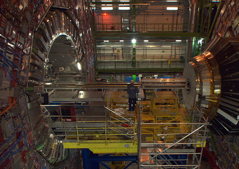 CERN HADRON COLLIDER DATA