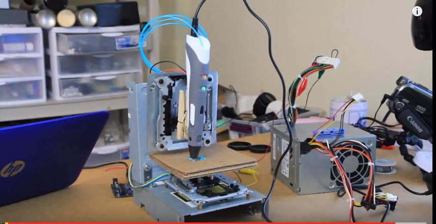 DIY 3d Printing Machine