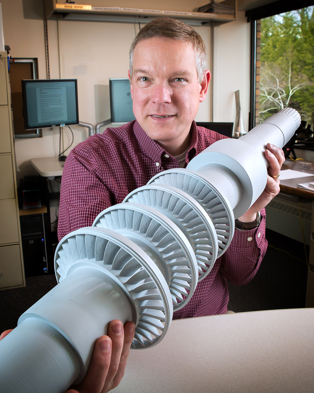 GRC efficient turbine