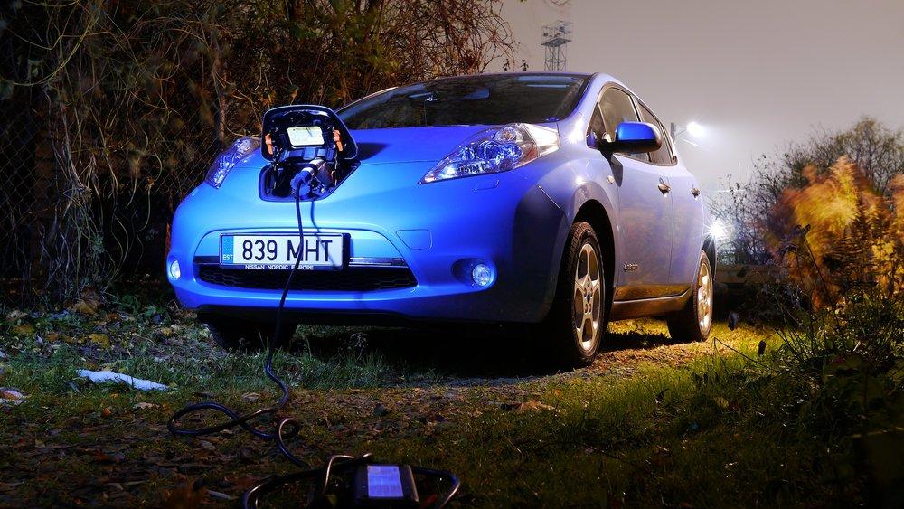 Nissan LEAF Karlis Dambrans