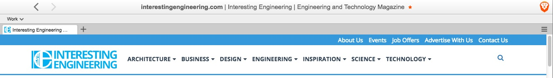 brave toolbar interesting engineering