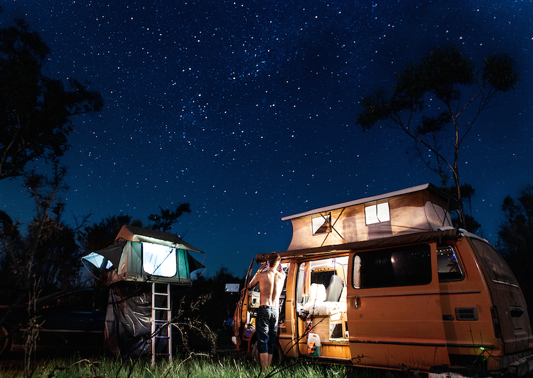 camping hacks video