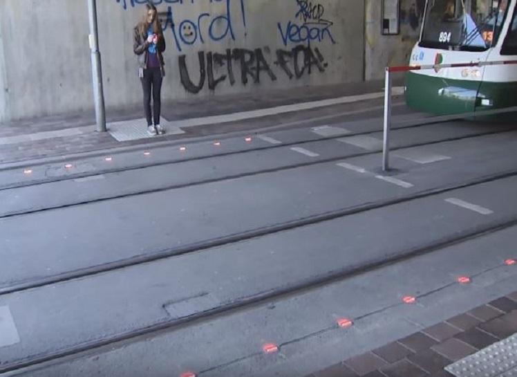 German street signal