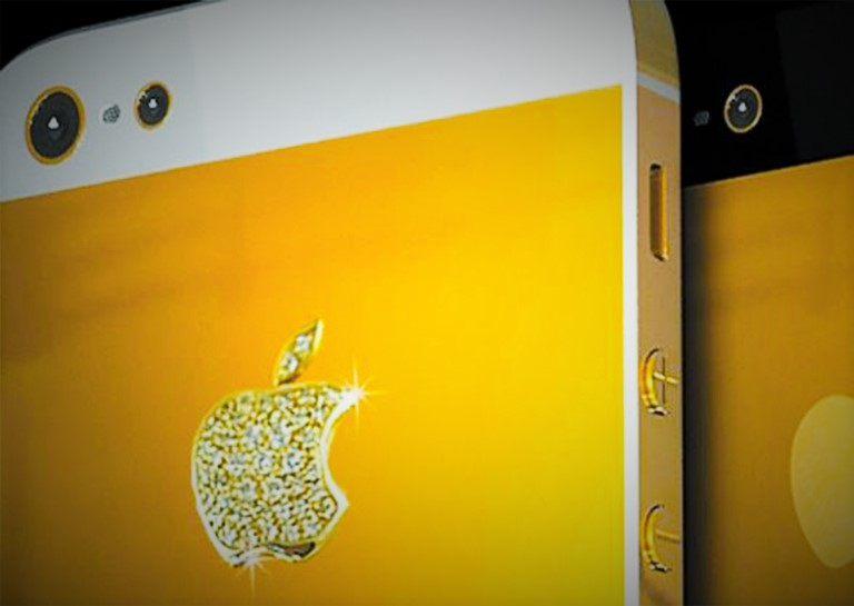 gold iphone 2