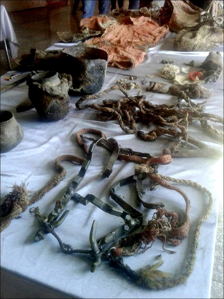 harness found mummy turkik