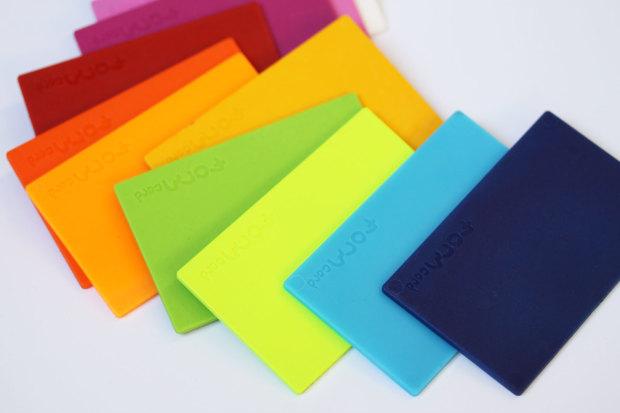 multiple color formcards
