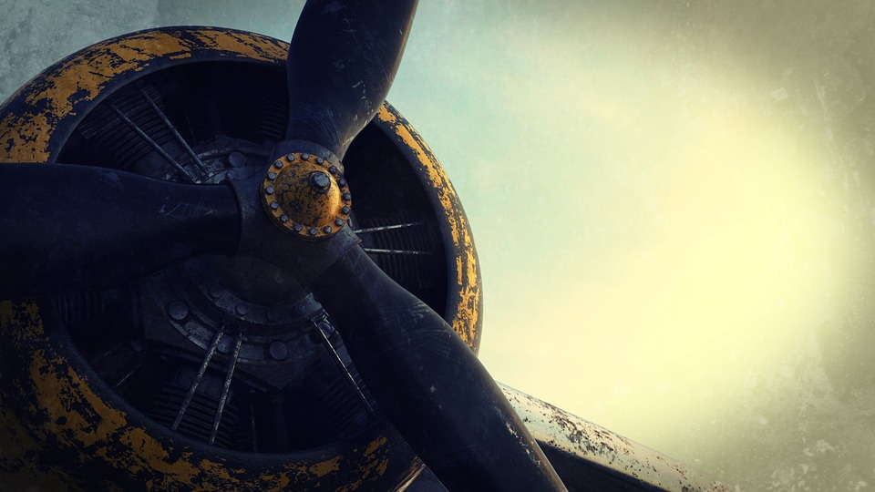 radial blade engine