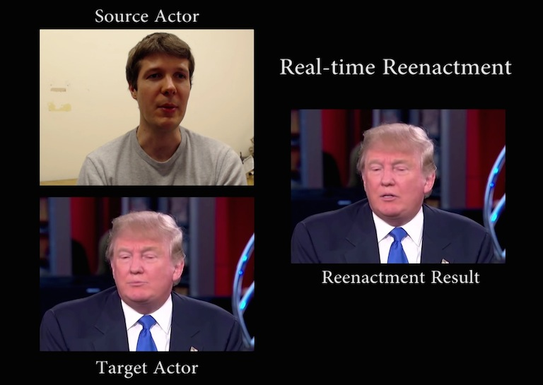 real time face scan