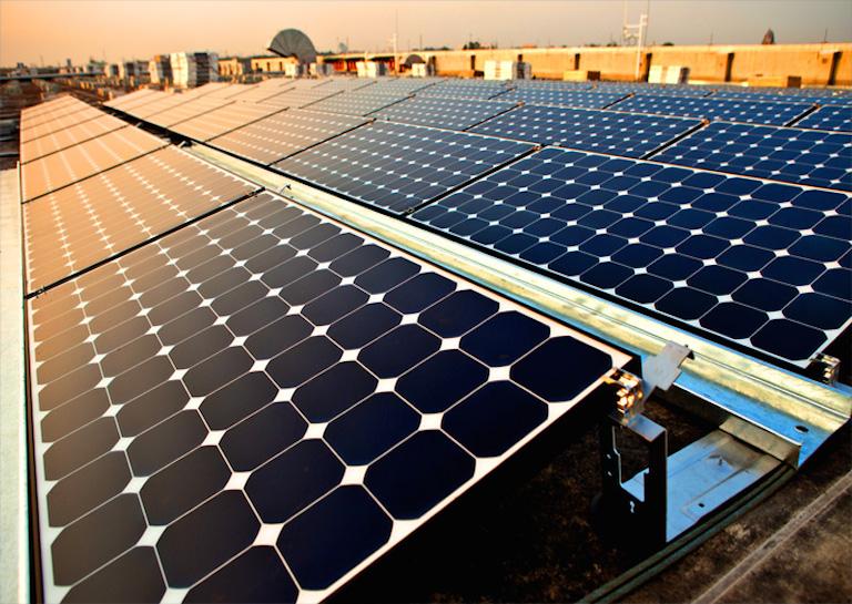 solar power plant india