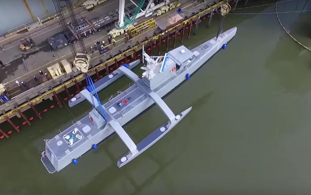 submarine hunter drone ship