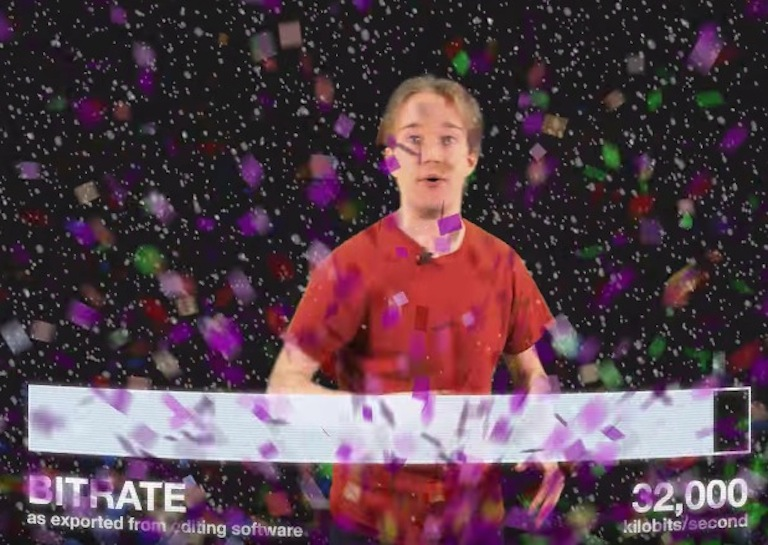 CONFETTI ruins video quality