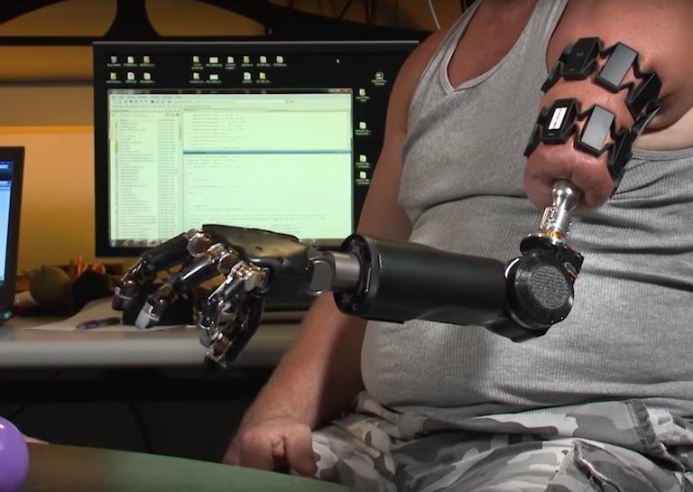 DARBA CYBORG robotic ARM