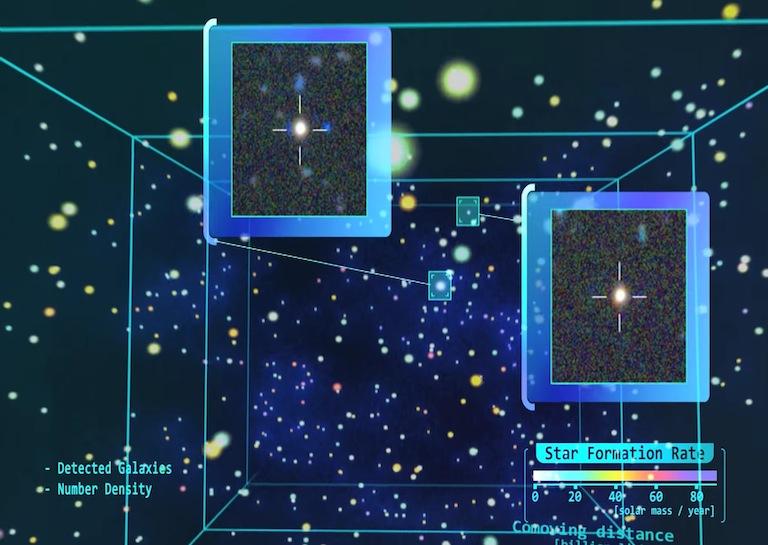 DEEP UNIVERSE MAP