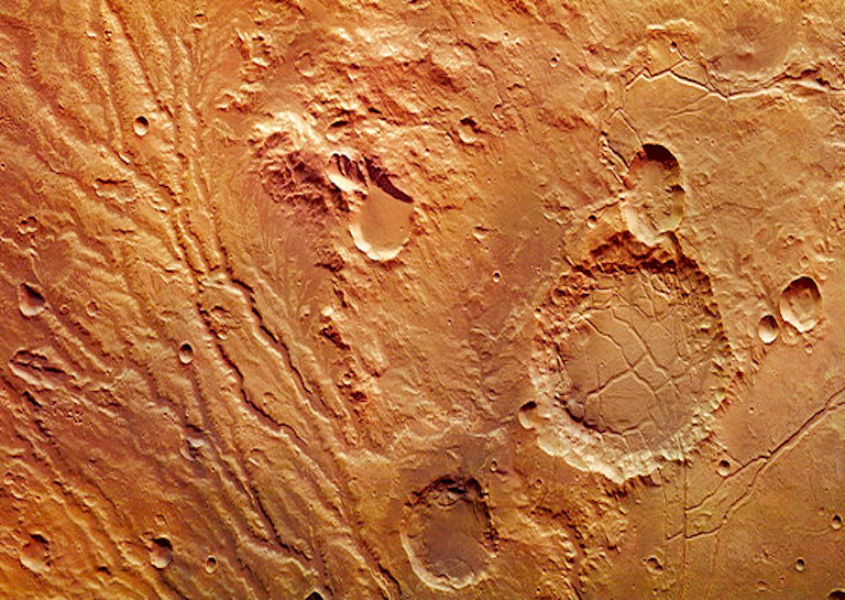 MARS surface tsunami