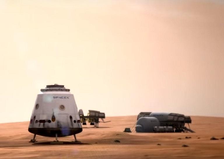 Space X shuttle