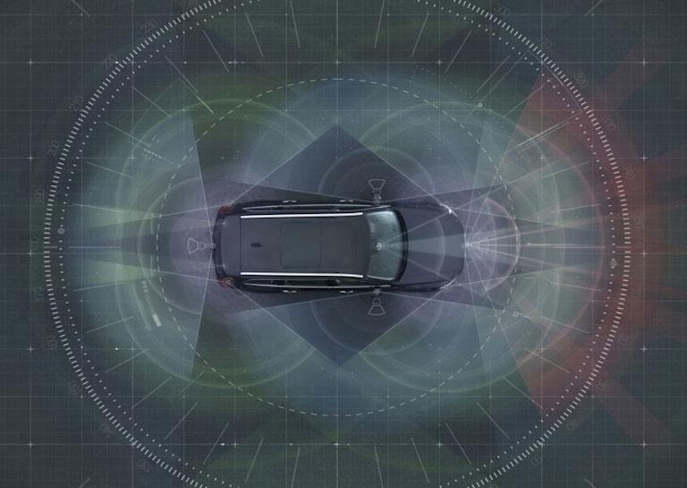 autonomous volvo car