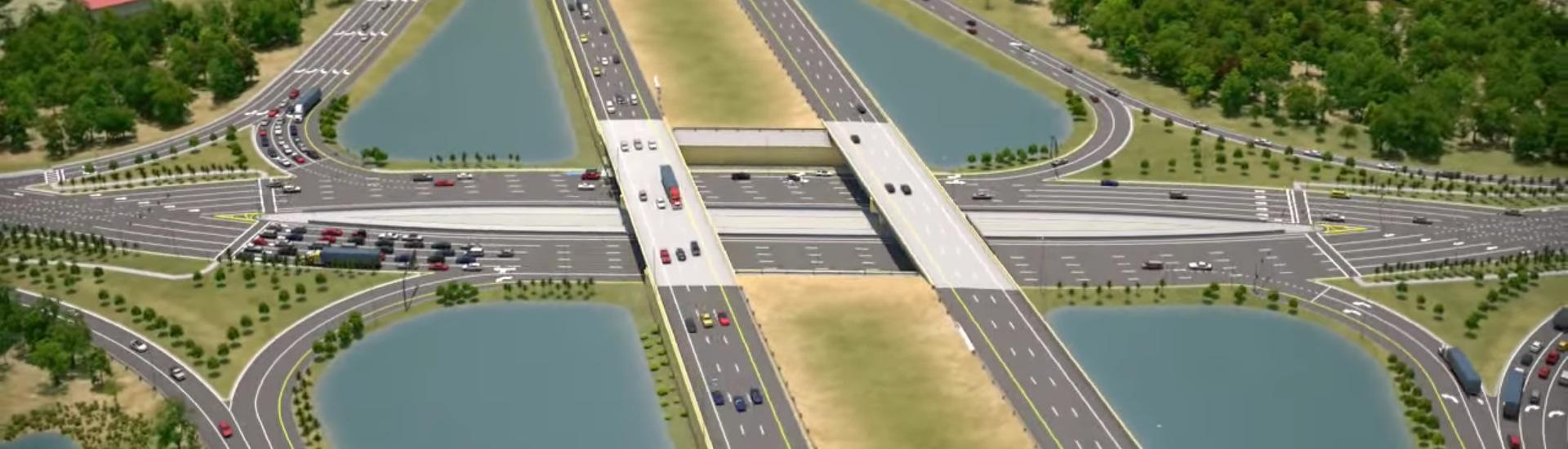 diverging interchange header