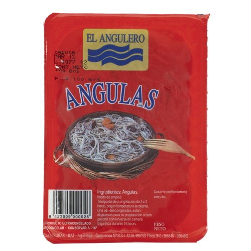 frozen eels