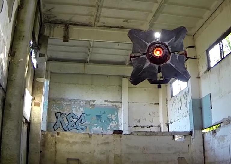 half life scanner drone