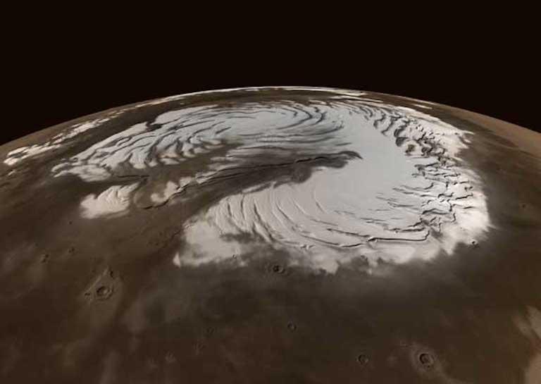 nuke mars ice