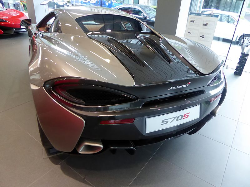 rear view of 570s