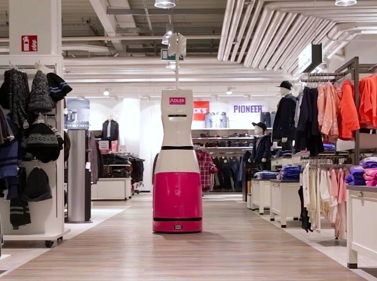 retail inventory robot