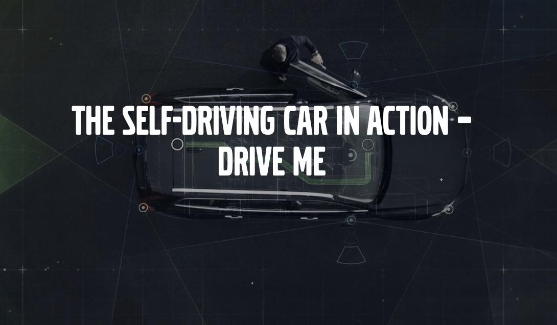 vovlo car driving