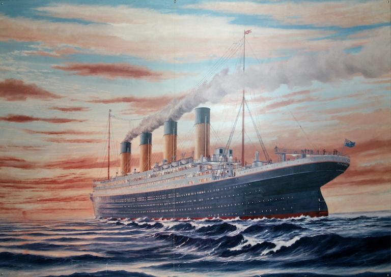 TITANIC olympic ships