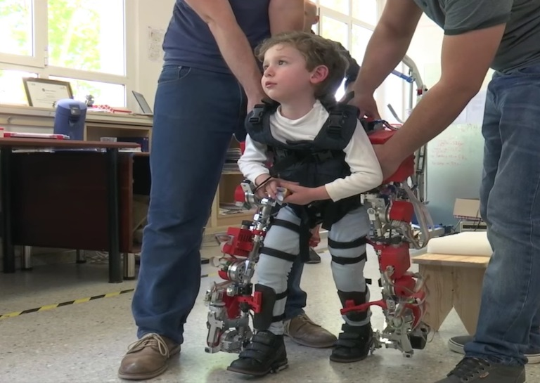 exoskeleton use around world child