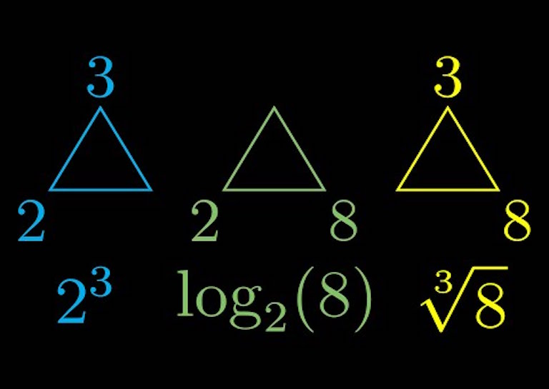 logarithm triangle