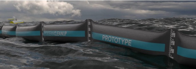 ocean clean up prototype