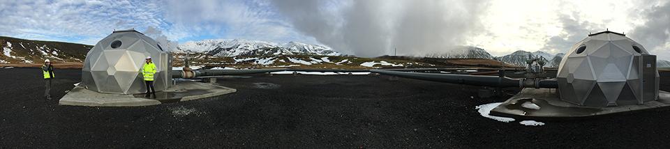 panorama hellisheidi