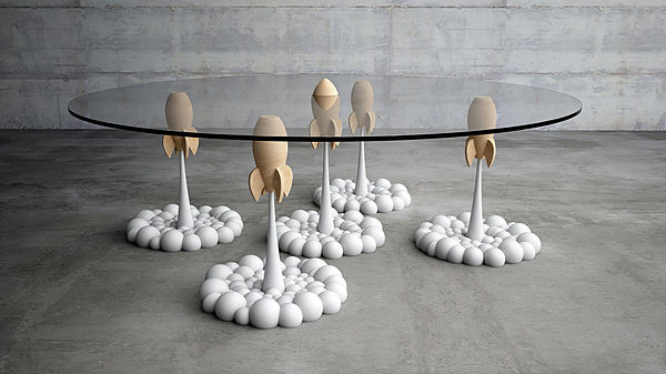 rocket table design
