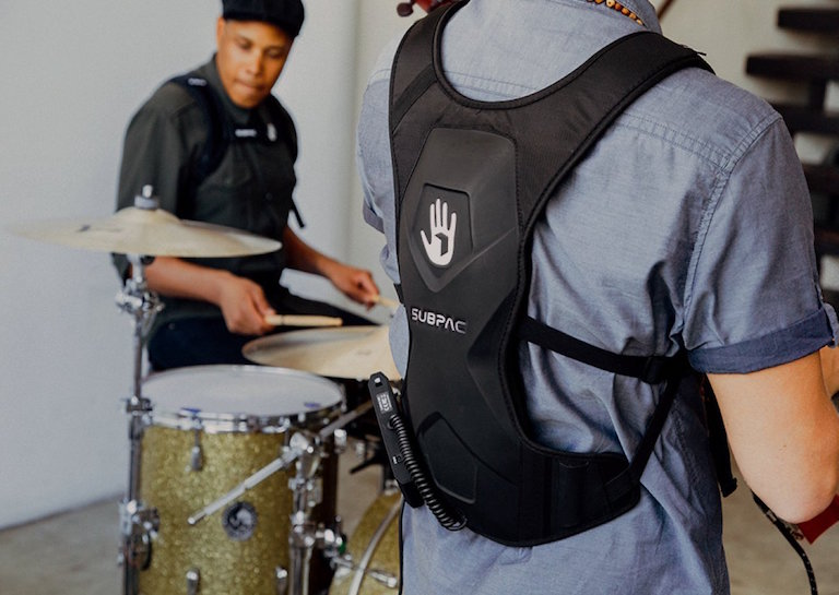 subpac wearable base