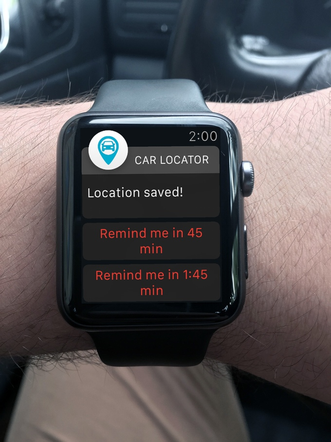 yab on smartwatch